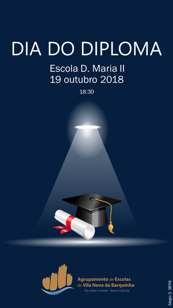 Cartaz dia do diploma